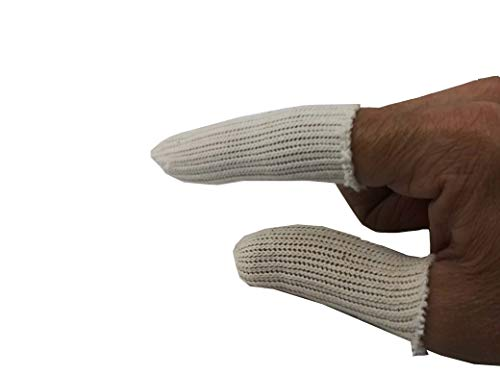 Cotton Finger Guards Cots Elastic Finger (Pack of 20)