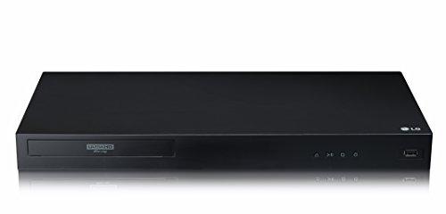 LG UBK80 4K Ultra HD HDR Blu-ray Player, Black