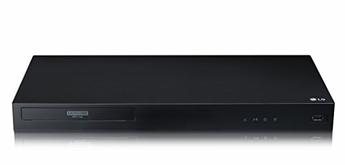 LG UBK80 DVD/Blu-Ray Player 3D Black
