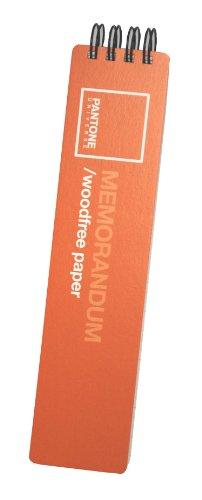 Pantone Memorandum Notizbuch, 150 Blatt, Orange, 2 Stück (50274-27568-0)