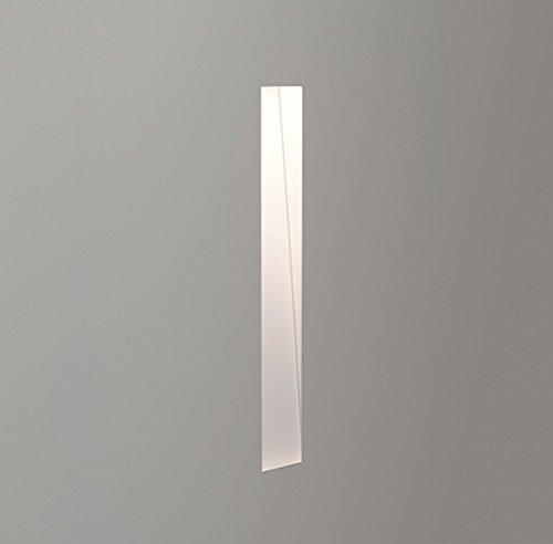 Astro Borgo trimless 200 inbouw wandlamp maat 2W zeer warm wit 2700K : 20.0cm H x 2.5cm B x 6.5cm D (Driver vereist)
