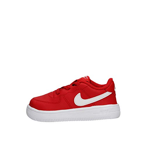 Nike Unisex Kinder Force 1 '18 (td) Hausschuhe, Rot (University Red/White 601), 22 EU