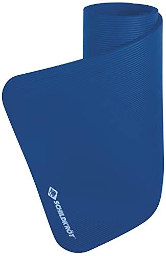 Schildkröt Fitnessmatte XL, 15 mm, Blau, mit Tragegurt, 960163