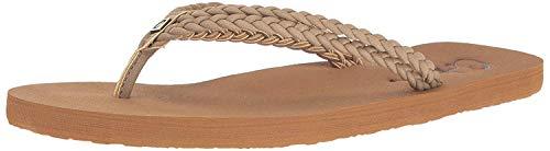 Cobian Women's Leucadia Natural Flip Flops, 9