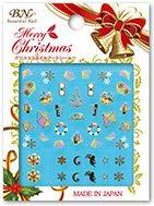 クリスマスネイルアートシール MCM-05 フリージンググラス