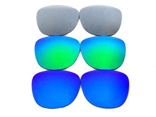 GALAXYLENSE Lentes de reemplazo para gafas de sol de gafas d