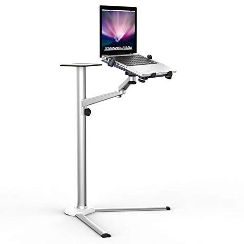 3in1 UP-8 lega di alluminio 7-13 pollici Tablet PC+3.5-6 pollici Smartphone Holder +10-15.6 pollici Laptop Floor Stand girevole con vassoio del mouse