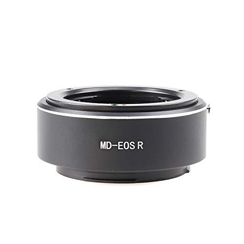 Hersmay MD-EOSR - Adaptador de montura de objetivo para lente Minolta MD...