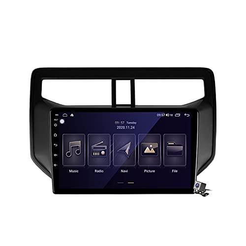 Radio estéreo para coche doble DIN Android 10 para Toyota Rush 2017-2020 Auto Video Audio Soporte DSP Bluetooth WiFi FM AM Radios Navegación GPS Espejo Link Carplay Android Auto AI Control de voz
