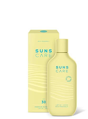 SUNS THIRTY POCKETSIZE | Premium Sonnenlotion LSF 30 | nachhaltiger Sonnenschutz | Travelsize | Tagespflege | für Gesicht und Körper | 90ml (Pacific Ocean)