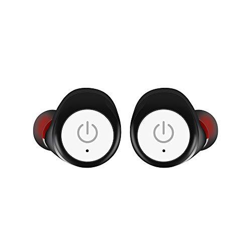 KCJMM Bluetooth-hoofdtelefoon, draadloos, TWS, stereo, mini-hoofdtelefoon met hoofdtelefoon, B