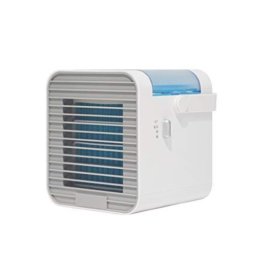 KUKICAT kompaktes Luftkühlsystem | 3 Geschwindigkeits- und Kühlungsstufe | mobil | waschbarer SMART-Filter | LED-Nachtlicht | Das Original aus dem TV