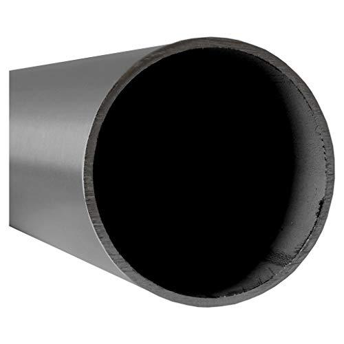Tubos de acero inoxidable en muchos diámetros y longitudes de 10 – 600 cm, por ejemplo: diámetro de 48,3 x 2 mm en longitud de corte de 700 mm.