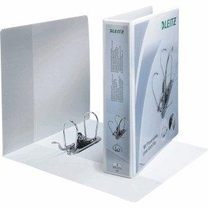 Leitz 10 x Präsentationsordner 180 Grad A4 80mm weiß