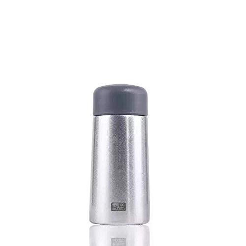 Wzmdd Grijs Mini Thermos Vacuüm Flasks RVS Hot Water Fles Reizen Koffie Thee Melk Mok Thermo Cup 150ml 250ml 150ml