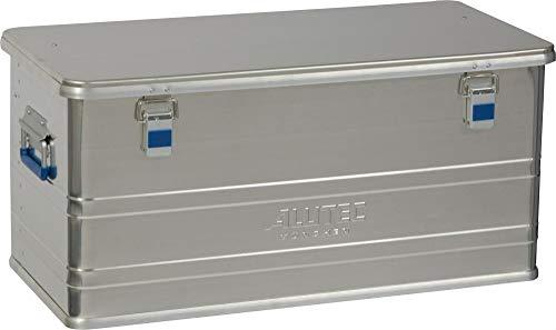 Alutec Transportkiste Comfort 92 - Aluminium Box 92 Liter mit Deckel verschließbar