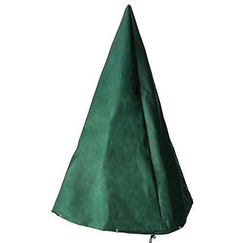 Ogrmar 48' x 61' Fountain Cover 600D Polyester Waterproof Garden Fountain Cover with Locking Drawcord (48' x 61')