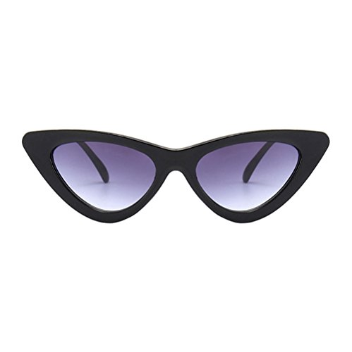 Topgrowth Occhi di Gatto Triangle Occhiali da Sole Donna Vintage Retro Eyewear Integrato UV Caramelle Colorate Bicchieri (C)