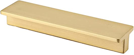 Geborsteld Gouden Messing Kast Handvat Massief Metalen Kabinet Handvat, 8-pack Kast Hardware Voor Keukenkast Deur, Slaapka...