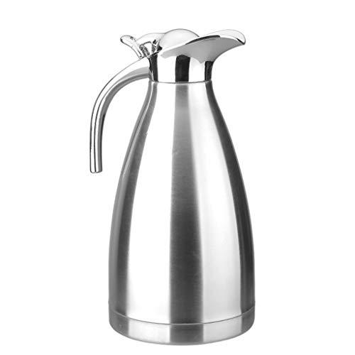 Household products - Puls izolacyjny czajnik domowy Duża pojemność Pojemność Dwuosobowa Stainless Hotel Biurko Restauracja Butelka Gorącej Wody (Kolor: Silver, Rozmiar: 2L) / Commodity Code: LJW-100