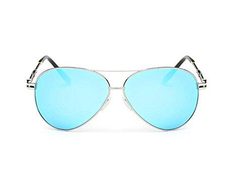CMCL Caminante Gafas De Sol Polarizadas Clásicas Gafas De Sol De Moda De Los Hombres, Blue Capullos