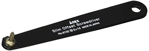 アネックス(ANEX) スリムオフセットドライバー +0×14mm No.6102