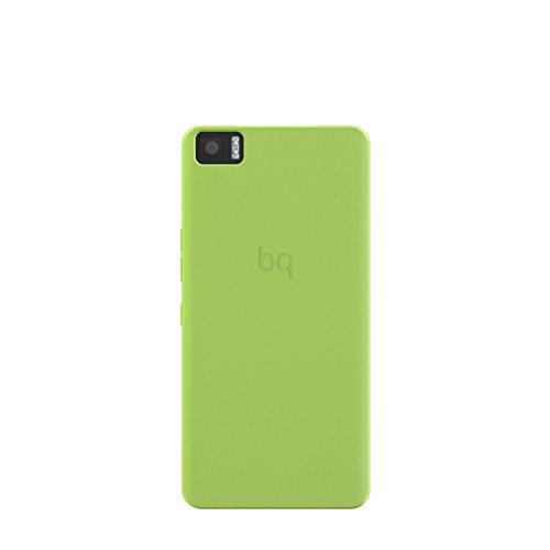 bq Candy - Funda rígida para bq Aquaris M5, color verde