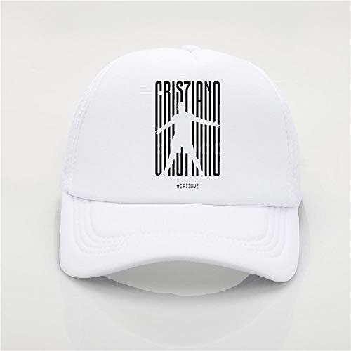 Baseball Kappe Fashion Hat Cr7 Printing Baseball Cap Men Women Summer Cap Youth Joker Sun Hat Hip Hop Hat Beach Visor Hat Lavender