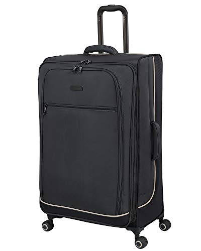 it luggage 32' Encircle Softside Expanable Spinner, Charcoal Grey/Smoked Pearl, 31.9 inches
