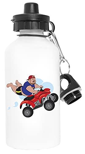 Bubba Kev! - Bubbakev Deporte Viaje Blanco Botella De Agua Metal Prueba de Fugas Sport Travel White Water Bottle Leak-Proof