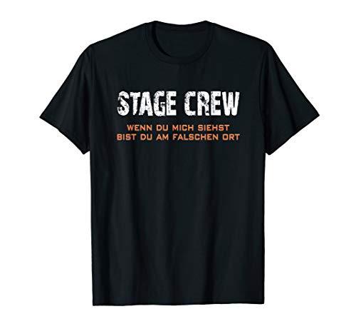 Stage Crew wenn Du mich siehst, bist Du falsch Tour Tournee T-Shirt