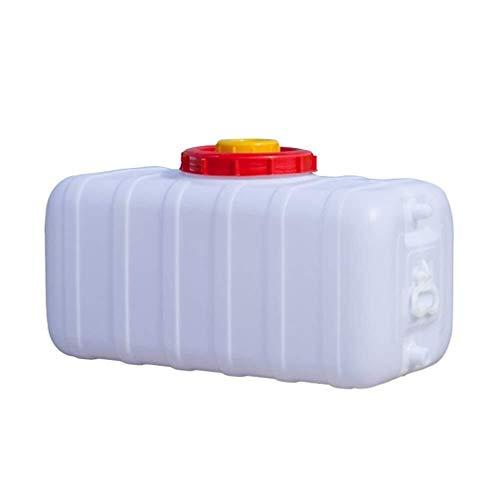 Wasserbehälter, Dick Kunststoff-Eimer Große Lagerung Wasser Food Grade Haushalt Mit Deckel Behälter Wasserträger (Size : 31x15.4x14.6inch)