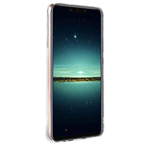 Huawei Mate 20 Lite Marmor Hülle, Huawei Mate 20 Lite Handyhülle, ToMoYi TPU Silikon Marble Bumper Handytasche Flexible Schutzhülle Back Cover Handy Hülle Protective Dünn für Huawei Mate 20 Lite - 5