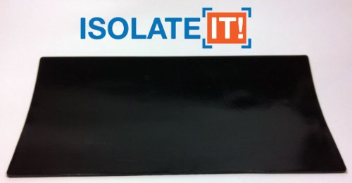 Isolate It!: Sorbothane Acoustic & Vibration Damping Film 70 Duro (0.10 x 6 x 12in)