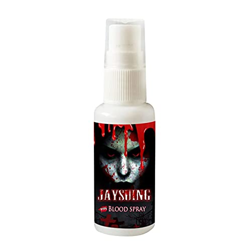 Falsches Blut, 30 ml, Spray, Blut für Halloween, künstliche Blut, für Make-up, Party, Karneval