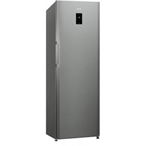 Smeg CV31X2PNE Congelatore (verticale, 275 L, 20 kg/24h, SN-T, No Frost system, A++), Grigio