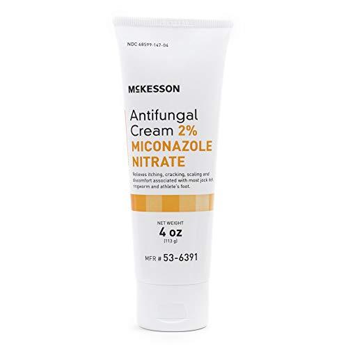 McKesson 2% Miconazole Nitrate Antifungal Cream 4 ozTube