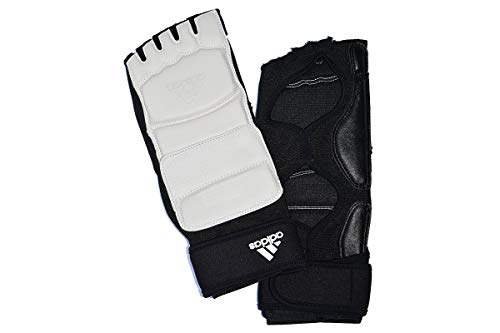 ADIDAS WTF APPROVED TKD FOOT PROTECTOR - white - xlarge