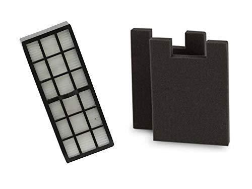 NorthShore Vacuum 2 DCF16 Filters for Eureka Altima, Surface Max, True Clean 62736, 76552 + 1 HF-7 Hepa Filter