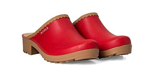 AIGLE VICTORINE SAB 24451 femmes Sandales, rouge 42 EU