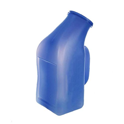 LjzlSxMF Männlich Tragbare Urinal Pee Flaschen Startseite Urinal Potty Thick Firma Urinflasche Mit Deckel Für Männer 1l
