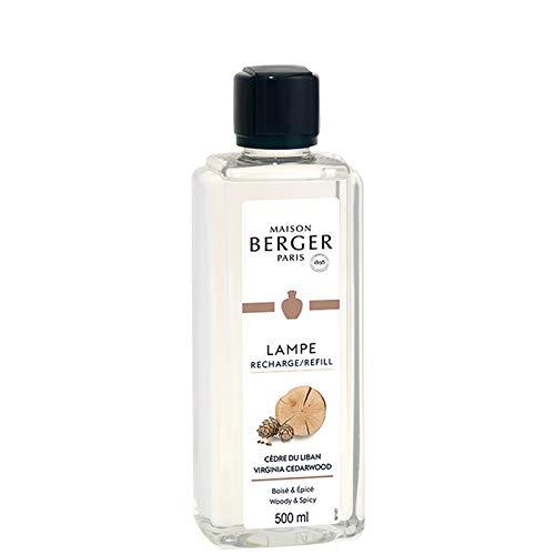 Lampe Berger - Recharge de parfum Lampe Berger 500ml - Parfum Cèdre du Liban - Maison Berger Paris