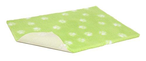 Vetbed Chien et Chat Linge de lit, Citron Vert avec Pattes de Blanc