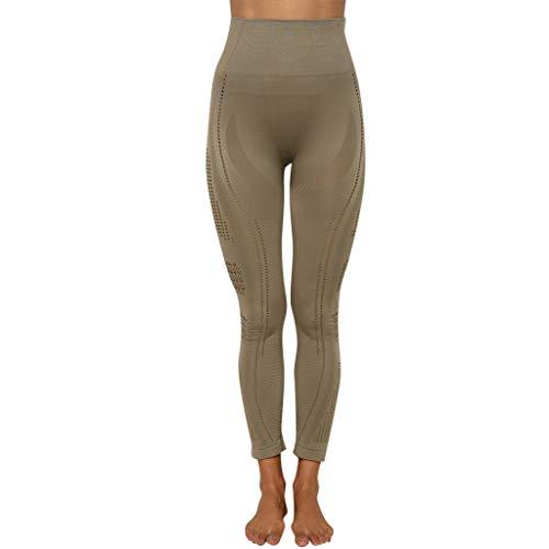 OPALLEY Damen Sports Leggings Fitness Hosen Yogahosen Jogginghose mit Elastische Bauch Kontrolle/Hohe Taille Sporthosen Super für Fitness Laufen Yoga Workout