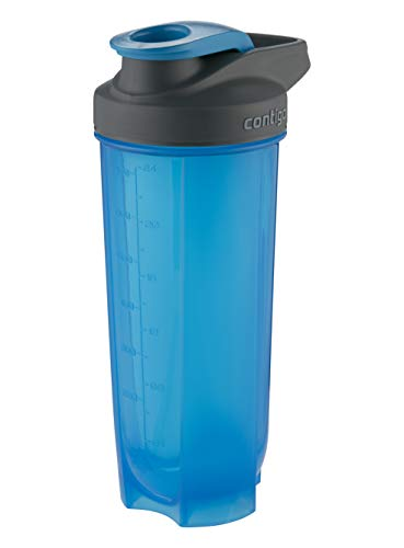 Contigo Shake Go Fit Bouteille Unisex-Adult, Carolina Blue, 820 ML
