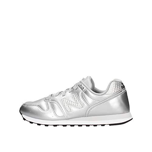 New Balance Damen 373v2 Sneaker, Grau (Grey/White Gc2), 37.5 EU