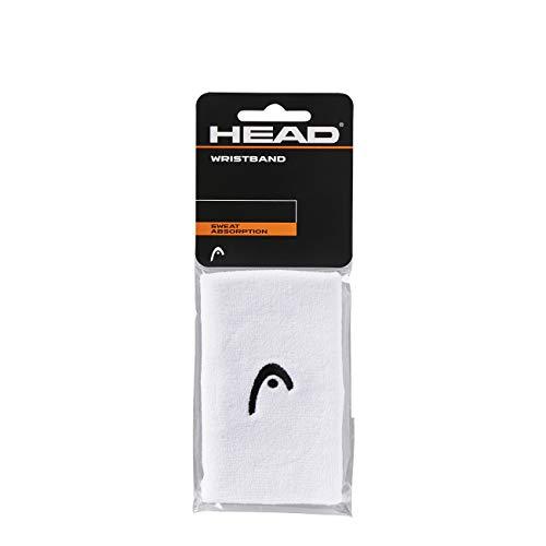 """HEAD Polsino da 5"""", Accessori Tennis Unisex Adulto, Bianco, taglia unica"""