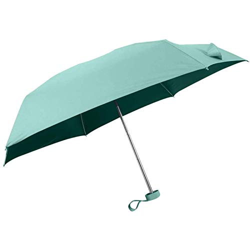 Tymuev Ombrellone Pieghevole Mini ombrellone da Viaggio da Donna ombrellone Leggero a Fondo Piatto Protezione ombrellone Mini Ombrello Pieghevole   Ombrello