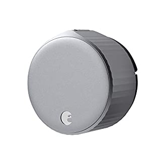 August Wi-Fi Smart Lock (Newest Model 4th Gen) - Alexa, Google Assistant, HomeKit, SmartThings and Airbnb Compatible - Upgrade Your Deadbolt - Silver (B082VXK9CK) | Amazon price tracker / tracking, Amazon price history charts, Amazon price watches, Amazon price drop alerts