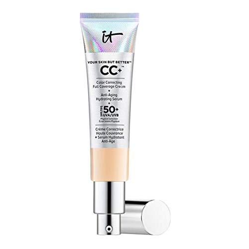 IT Cosmetics Your Skin But Better™ CC+™ SPF 50+ Crema correctora, antiedad y protección SPF 50